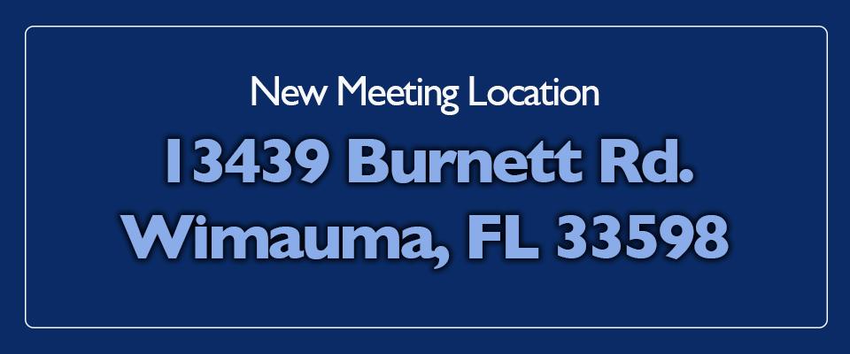 New Meeting Location